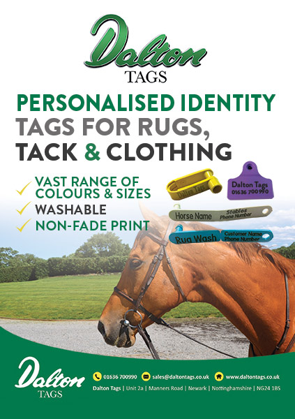 Personalised Identity Tags for Rugs, Tack and Clothing