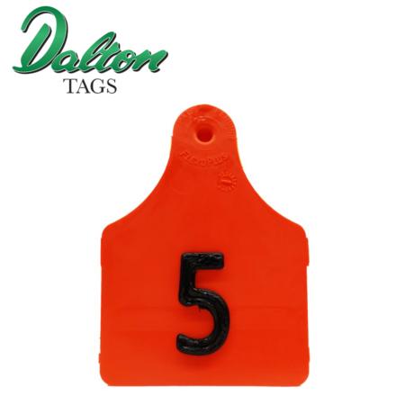 Dalton Pig Tag red